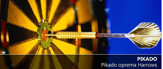 Pikado in oprema arrows - zabava in prosti čas
